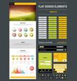 website design template vector image