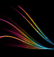 abstract light wave futuristic background modern vector image vector image