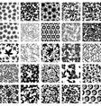 big seamless set 1 vector image