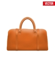 Classic Leather Bag vector image vector image
