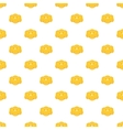 Cookie pattern cartoon style vector image vector image