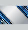 dots stripe blue grey color vector image vector image