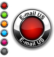 E-mail us button vector image vector image