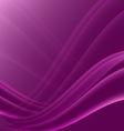 Pink and black waves modern futuristic abstract vector image vector image