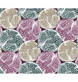 seamless pattern with pomegranate fruit vector image vector image