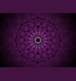seed life symbol sacred geometry mandala vector image vector image