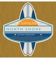 Surfer Sticker North Shore