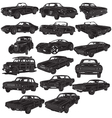 Cars package detailed vector | Price: 1 Credit (USD $1)