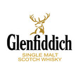glenfiddich whiskey brand vector image vector image