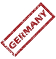 New Germany rubber stamp vector image vector image