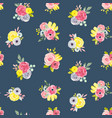 Watercolor abstract floral pattern