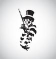 clown 01 vector image