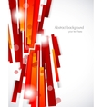 Abstract background with red lines vector image vector image