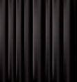 black curtain background EPS 10 vector image vector image