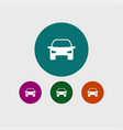 car transport icon simple vector image vector image