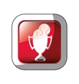 Championship trophy cup vector image