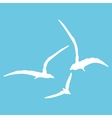 Gull sign pattern vector image