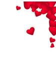 happy valentines day romantic design elements on vector image