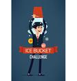 Ice Bucket Challenge vector image vector image