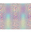iridescent snake skin pattern vector image vector image