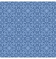 Retro Blue Seamless Wallpaper vector image vector image