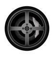 road car rim icon vector image vector image