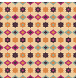 Seamless retro pattern geometrical texture vector image vector image