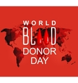 World blood donor day-June 14th vector image vector image