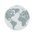 world internet modern digital technology travel vector image vector image