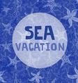Sea vacation vector image