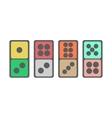 Domino icon vector image