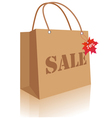 autumn sale bag vector image
