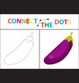 children s educational game for motor skills vector image vector image