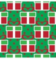 colorful Christmas gift boxes Holiday seamless vector image vector image