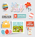 Easter Isolated Symbols - Objects Set vector image