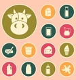 milk icon vector image