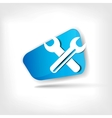 Repair web icon vector image