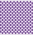 Seamless geometric pattern lilac color vector image vector image