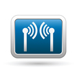 Wireless icon on vector image