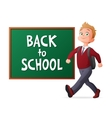 Back to school Proud and vector image vector image