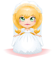 Bride dressed for her wedding day 3 vector | Price: 1 Credit (USD $1)