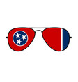 cool aviator sunglasses with tennessee state flag