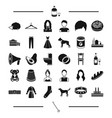 industry architecture animal and other web icon vector image vector image