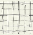 plaid grungy texture vector image vector image
