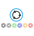rotate rounded icon vector image vector image