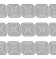 design seamless spiral pattern vector image vector image