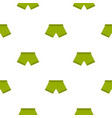 green man boxer briefs pattern seamless vector image vector image