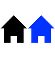 home glyph icon vector image