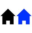 home glyph icon vector image