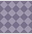 Seamless geometrical pattern with rhombus vector image vector image